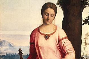 Gemälde mit Judith